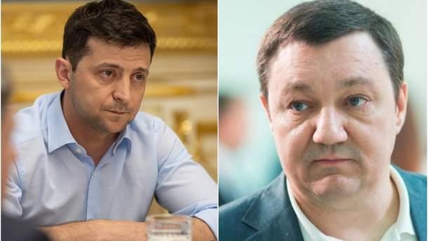Зеленский наградил орденом погибшего Тымчука
