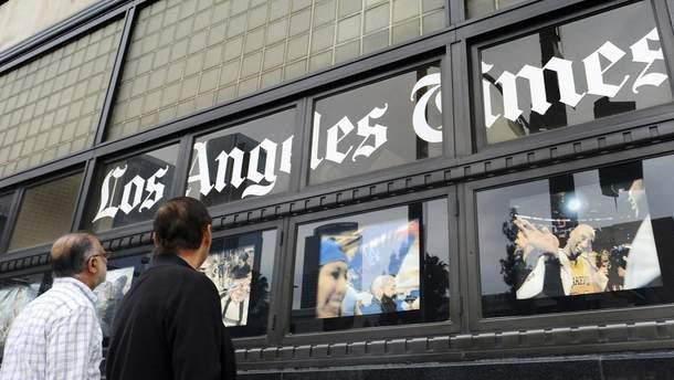 Газета Los Angeles Times фактично визнала Крим російським
