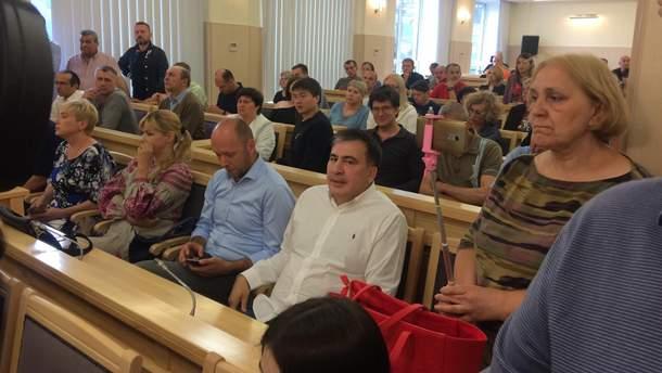 """Саакашвілі виграв суд, """"Рух нових сил"""" братиме участь у виборах"""