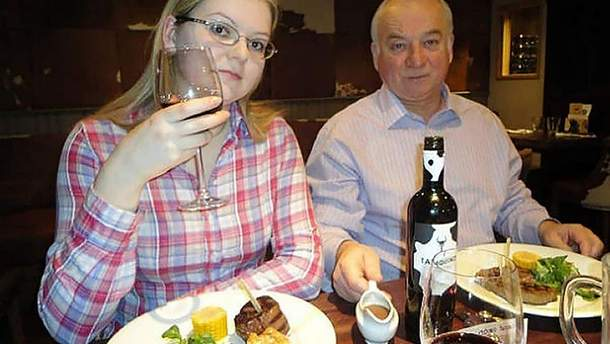 Юлия и Сергей Скрипали, которых отравили в Солсбери
