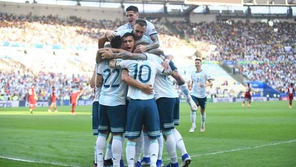 Аргентина вийшла у півфінал Копа Америка-2019