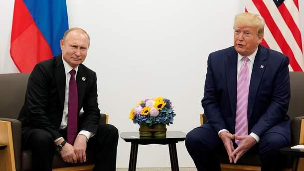Трамп и Путин обсудили ситуацию в Украине