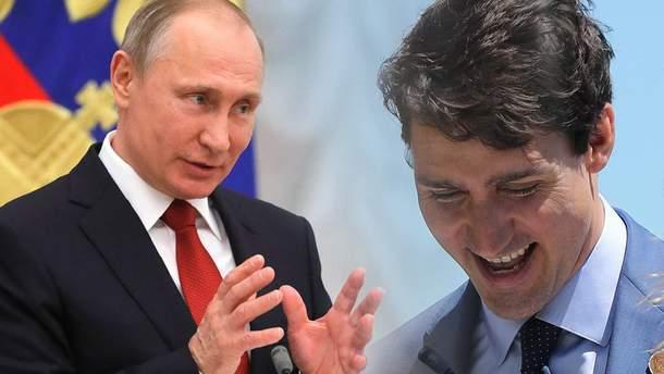 Трюдо сів у крісло Путіна: помста за Грузію?