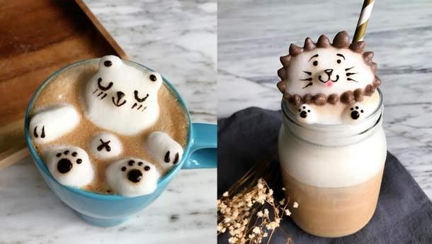 3D-шедеври на каві