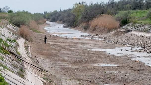 Україна відновить постачу води в анексований Крим лише після його деокупації Росією