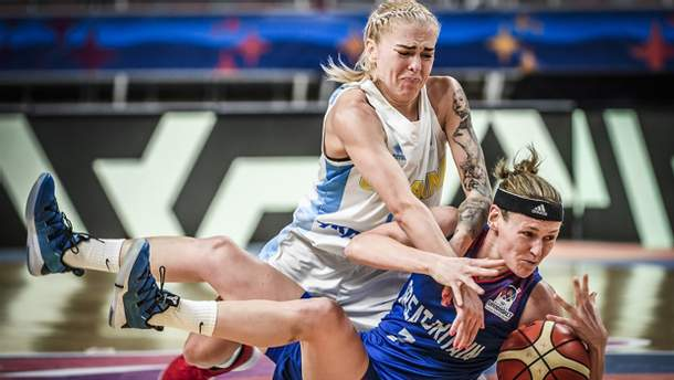 Женская сборная Украины по баскетболу проиграла все матчи на Евробаскете-2019