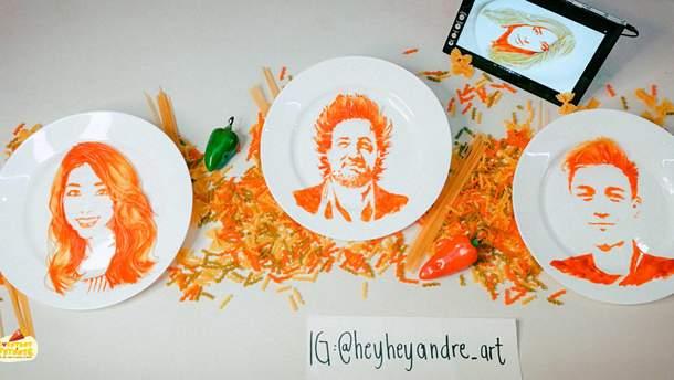 Мистецтво малювати їжею
