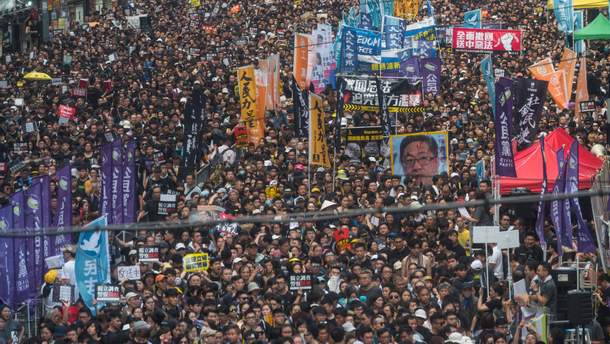 Картинки по запросу фото протестами в Гонконге