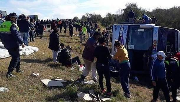 Смертельна ДТП  в Аргентині