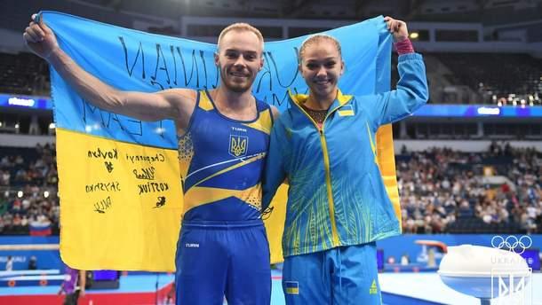 Українські атлети на Європейських іграх