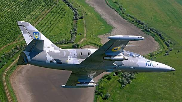 На Харківщині впав військовий літак