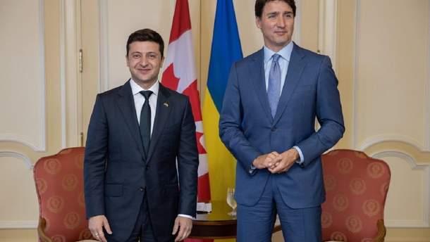 1174098 - Зеленский обсудил с Трюдо неприемлемость возвращения РФ в G7
