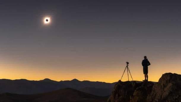 Сонячне затемнення 2 липня 2019 – фото і відео з космосу і землі