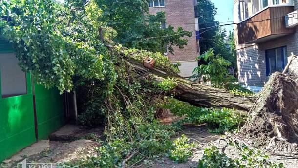 Буря в Кривой Роге 2 июля 2019 – фото, видео урагана
