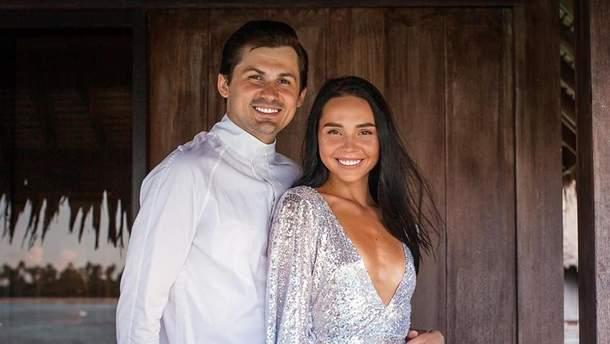 Євген Кот і Наталія Татаринцева одружились: фото з весілля