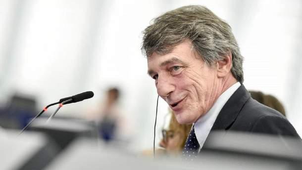 Новим президентом Європарламенту став італієць Давид-Марія Сассолі
