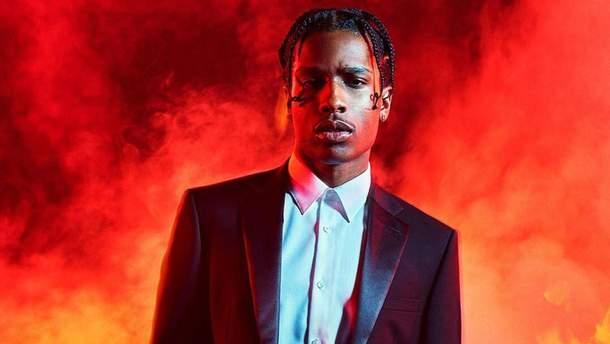 A$AP Rocky задержали в Швеции