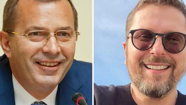Андрій Клюєв та Анатолій Шарій