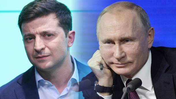 Президенту РФ не сподобались висловлювання президента України