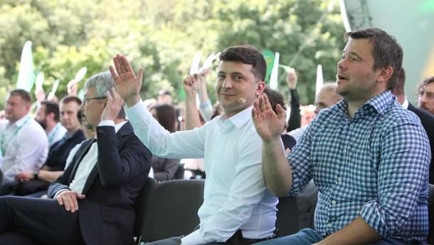 Партия Зеленского теряет рейтинг
