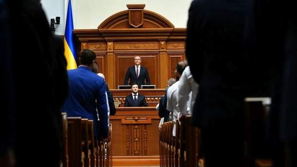 Парубий напомнил Зеленскому, что он больше не имеет права ветировать закон о ВСК