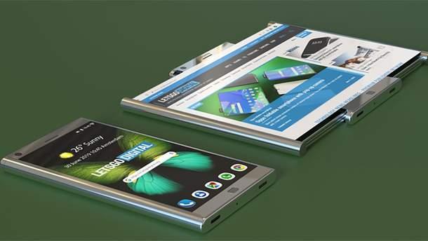 Samsung запатентовала новый гибкий смартфон