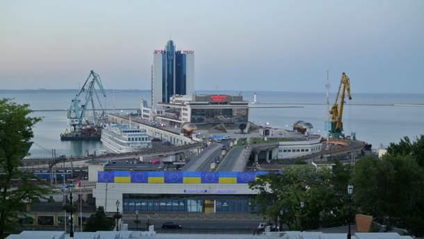Морской вокзал Одессы