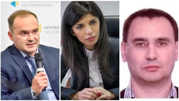 Уволенные Зеленским госуполномоченные АМКУ Полюхович, Загребельская и Вовк