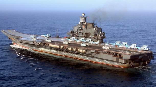 ВМФ РФ обзавёлся эскадрой несуществующих авианосцев