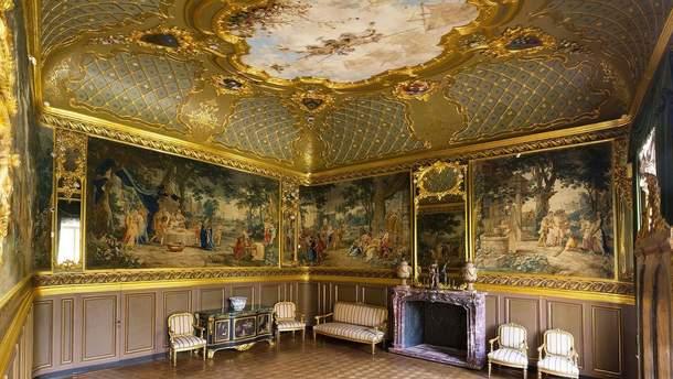 Золотой кабинет в Музее Ханенко