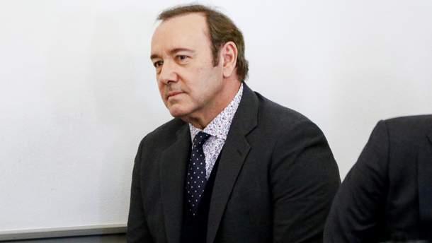 Кевин Спейси в суде 7 января 2019 года