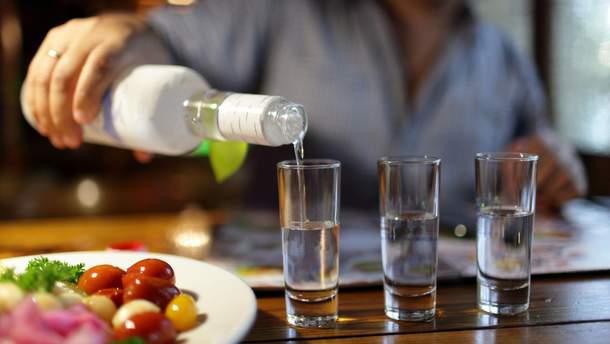 В Украине – проблемы со спиртом