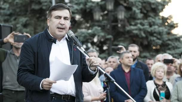 Суд отказался снимать Саакашвили с парламентских выборов