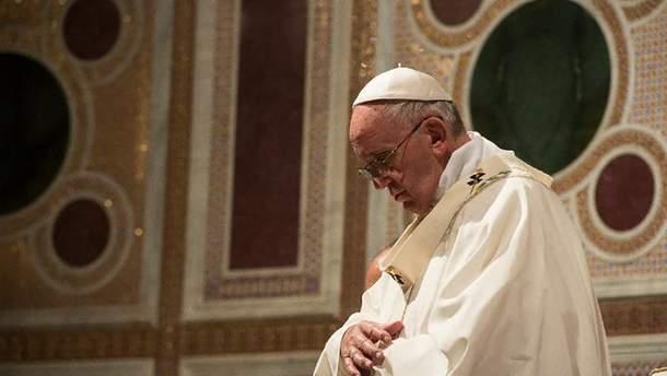 Папа Римський вперше прокоментував війну на Донбасі після зустрічі з Путіним