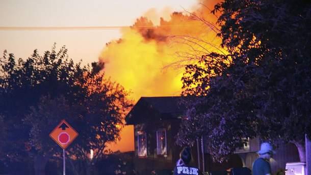 В Калифорнии вспыхнули пожары из-за землетрясения