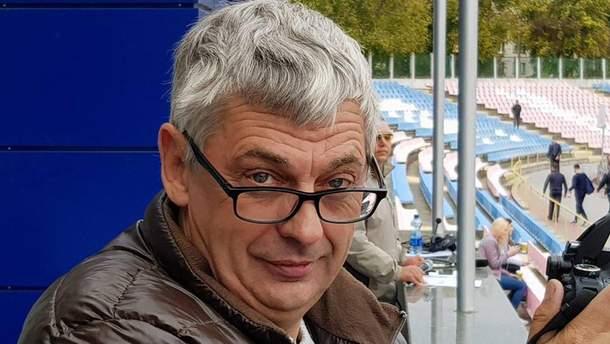 Убитый журналист Вадим Комаров