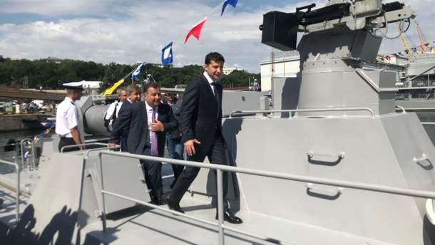 Володимир Зеленський привітав військових моряків з професійним святом