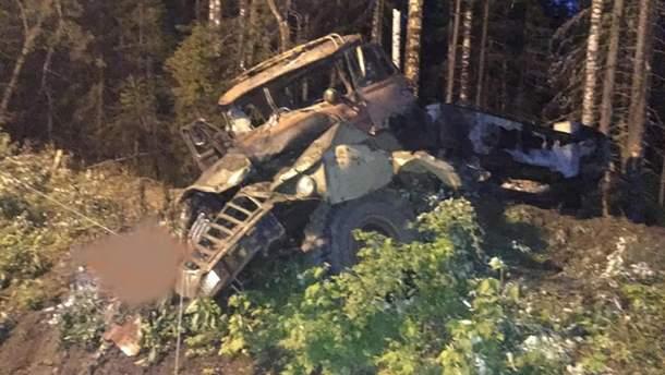 В Свердловськийц области России взорвался бензовоз: погибли 3 человека и еще 7 пострадали