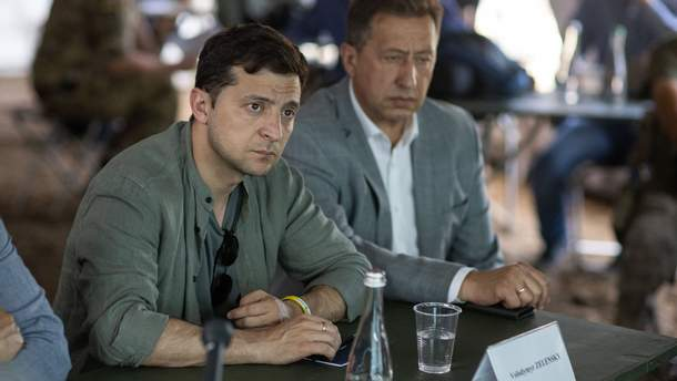 Ми швидко це зробимо, – Зеленський про зруйнований міст поблизу Станиці Луганської