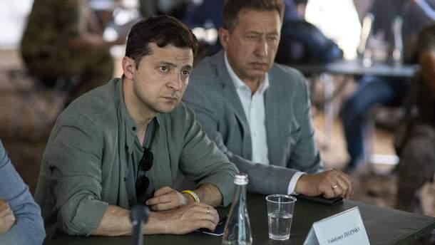 Мы быстро это сделаем, – Зеленский про разрушенный мост вблизи Станицы Луганской