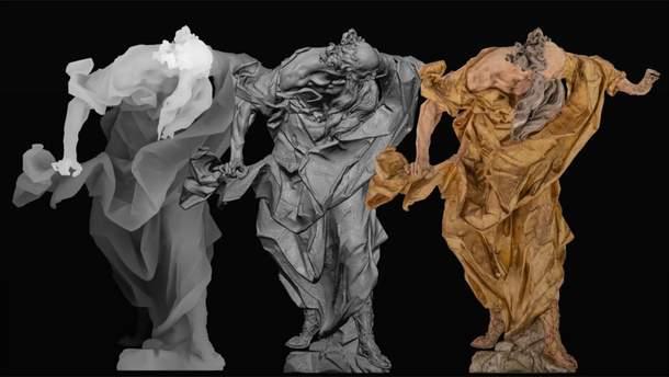 Тривимірна скульптура Пінзеля