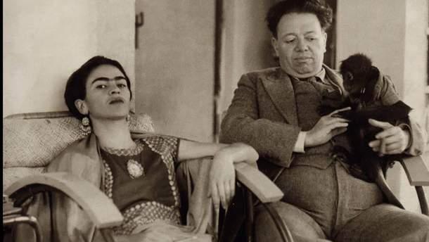 Фріда Кало та Дієго Рівера