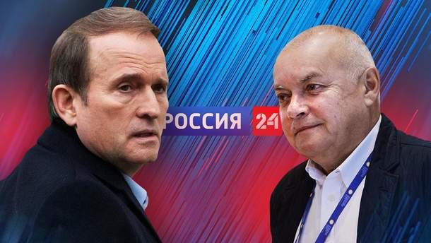 """Соцмережі вибухнули через скандальний телеміст між Newsone та """"Росія 24"""""""