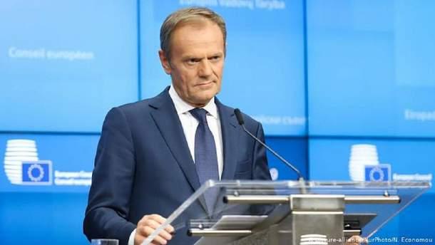 Голова Європейської Ради пообіцяв майбутню підтримку Україні: у будь-якому статусі