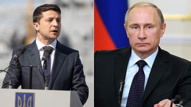 Зеленський заявив про переговори з Путіним
