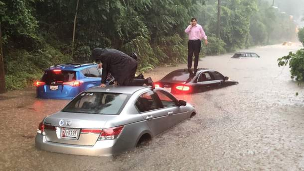 Вашингтон накрила потужна злива