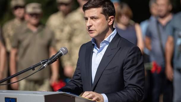 Зеленский надеется, что война на Донбассе закончится через год