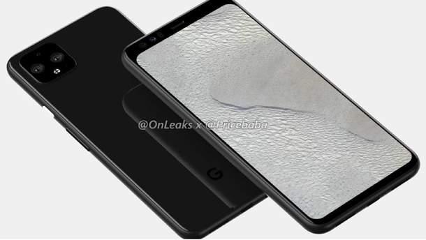 Google Pixel 4: нові фото