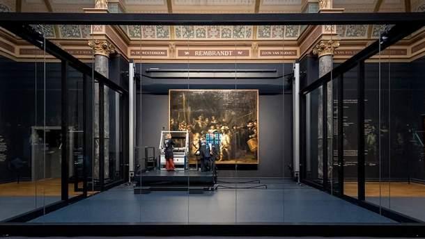 У Амстердамі відновлюють полотно Рембрандта