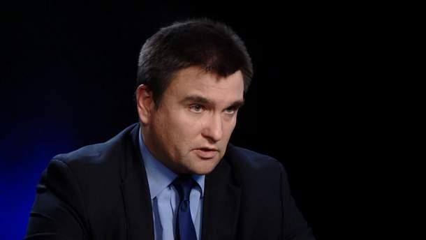 Клімкін прокоментував відеозвернення Зеленського до Путіна